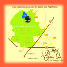 Map Of Walt Disney World by Golden Oak At Walt Disney World Resort Real Estate