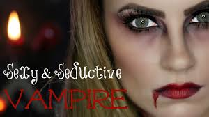 video seductive vampire halloween makeup tutorial hello