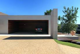 Free Single Garage Plans by View In Gallery Single Storey Home Flat Roof Future Vertical