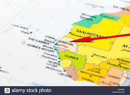 Guinea Africa Map by Senegal Map Stock Photos U0026 Senegal Map Stock Images Alamy