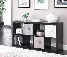 White Modern Bookshelves by Modern Shelf Bookcase Espresso 8 Cube Wood Storage Bookshelf