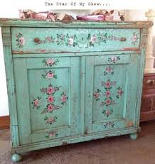 decoupaged furniture that is shabby chic paint chipped u2026 pinteres u2026