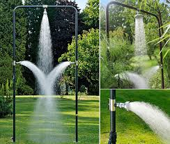 bridge outdoor shower gives you a relaxing