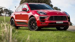 Porsche Macan Red - 2016 porsche macan gts review