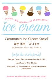 ice cream social menu templates musthavemenus 7 found