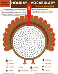 thanksgiving worksheets for 3rd grade worksheets