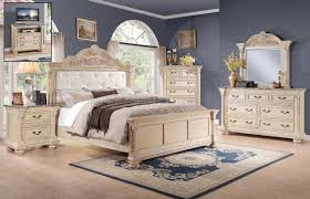 White Queen Bedroom Furniture Russian Hill 1808w Bedroom By Homelegance W Options