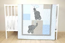 Elephant Crib Bedding For Boys Decoration Gray Elephant Crib Bedding Boy Cot Sets Baby Sheet