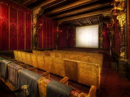 the movie theater room at hearst been there it u0027s rad