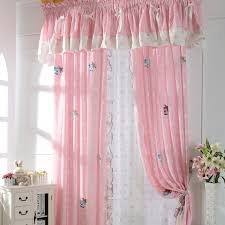 curtains for girls bedroom cute patterned pink kids room curtains for little girls