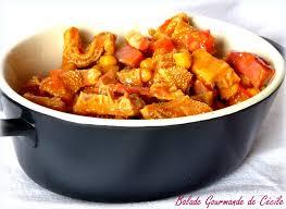 cuisiner les tripes tripes à l espagnole aux pois chiche et au chorizo balade