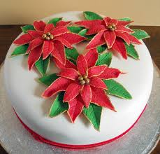 Christmas Cake Decorations Leicester by Christmas