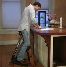 Stand Up Desk Kickstarter The Standing Task Chair Ergonomic Support For Standing By Jeff
