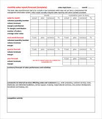 quarterly report template small business 26 monthly sales report templates free sle exle format