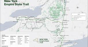New York State County Map by New York State Shows Growing Commitment To Trails New York New