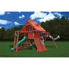 Backyard Play Systems by Amazon Com Gorilla Playsets Sun Palace Ii With Monkey Bars