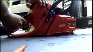 how to tune the carburetor on a chainsaw youtube