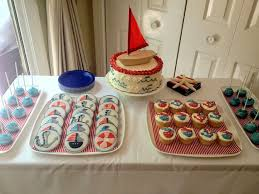 Baby Shower Table - 33 unique nautical baby shower ideas