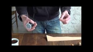 recoudre canapé cuir préparation du fil pour couture point sellier sur cuir