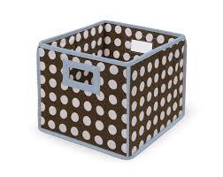 amazon com badger basket folding nursery basket storage cube