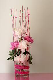 composition florale haute composition florale avec pivoines florystyka pinterest art