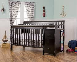 cribs black crib furniture wonderful black crib with changing