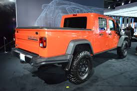 jeep wrangler orange breaking updated jeep wrangler pickup confirmed by 2019 photo