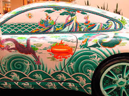 oriental designs free images asian vehicle colorful side view artwork