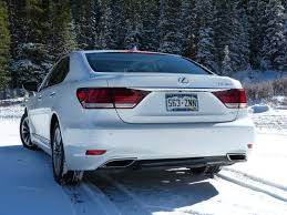 lexus is tail lights review 2013 lexus ls460 awd goes like silk the fast lane car