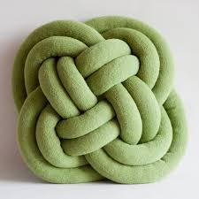 knot pillows notknot cushions were created by ragnheiður ösp sigurðardóttir an