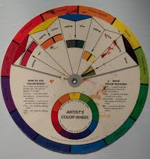 color wheel art center information paint color wheel of house