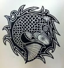 tribal fish design