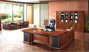 Office Wood Desk Large Wooden Desk Bethebridge Co