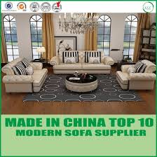 Chesterfield Sofa Set China Classical Furniture Tufted Italian Leather Chesterfield Sofa