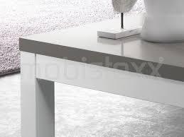 table basse fabrizio carrée blanc laque gris laque chez mobistoxx