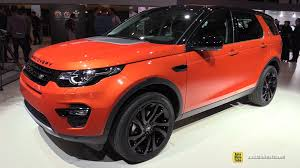 tan land rover discovery 2015 land rover discovery sport hse luxury exterior and interior