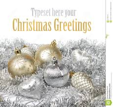 silver gold christmas decoration stock images image 22198114