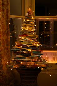 top 10 ideas for reusing old books christmas tree books and