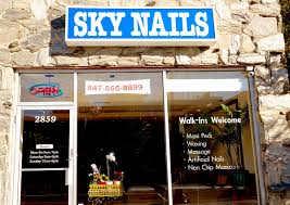 sky nails u0026 spa evanston il nail salon spa sky nails evanston