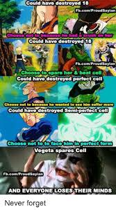 Cell Meme - 25 best memes about perfect cell perfect cell memes