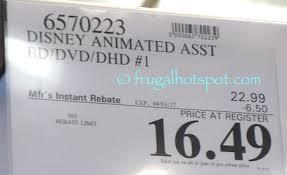 disney movie costco price frugal hotspot frugal hotspot