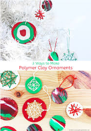 ornaments with polymer clay babble dabble do