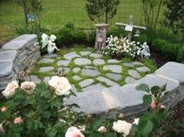 giardini rocciosi in ombra pietre per giardino progettazione giardino