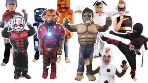 ironman halloween costume kids costume show costume runway show superhero ant man iron man