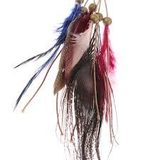 1pc indian peacock feather headdress boho style headband