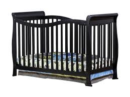 Black Convertible Cribs Violet 7 In 1 Convertible Style Crib In Black
