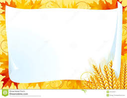 horizontal card for thanksgiving stock vector image 34127611