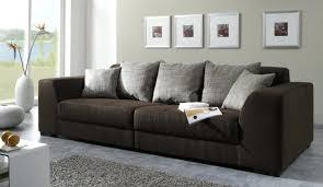 gros canapé gros coussins de canape 1 gros coussin gifi et canape marron dans