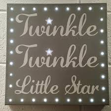gifts led canvas twinkle twinkle l 3 wishes