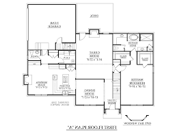 home design 4 bedroom 1 story house plans on a budget modern